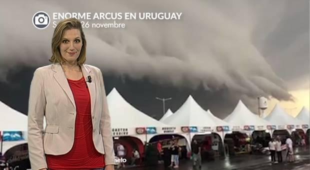 Vidéo Impressionnant arcus en Amérique du Sud