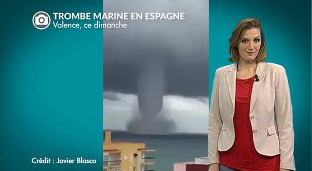 Vidéo Gigantesque trombe marine en Espagne