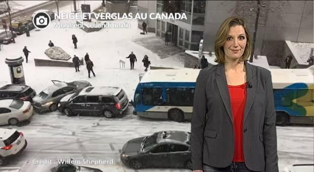 Vidéo Neige au Canada, USA, Russie et Europe de l'est