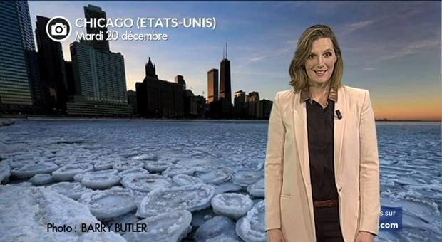 Vidéo Etonnants pancakes de glace à Chicago