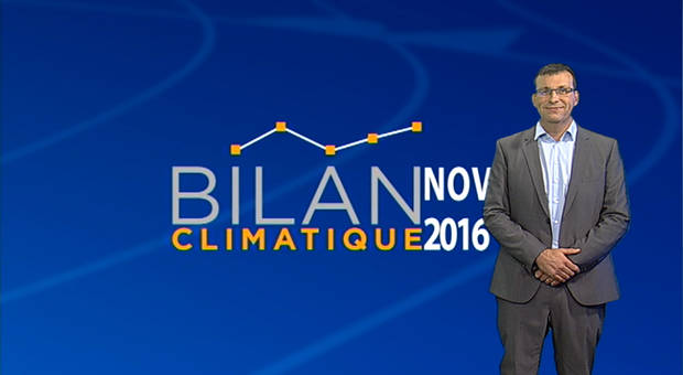 Vidéo Bilan climatique de novembre 2016