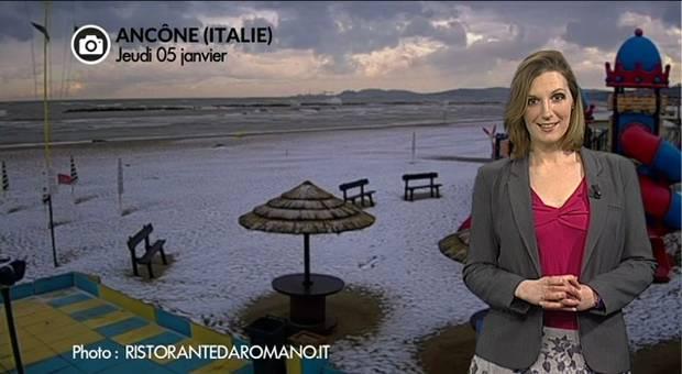 Vidéo Blizzard et orages de neige en Europe