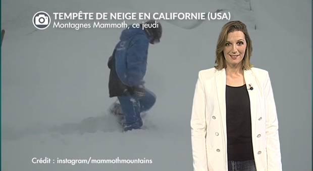 Vidéo Super-tempête de neige aux USA