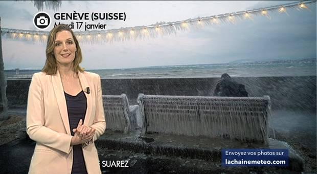 Vidéo Tempête de glace sur les lacs suisses