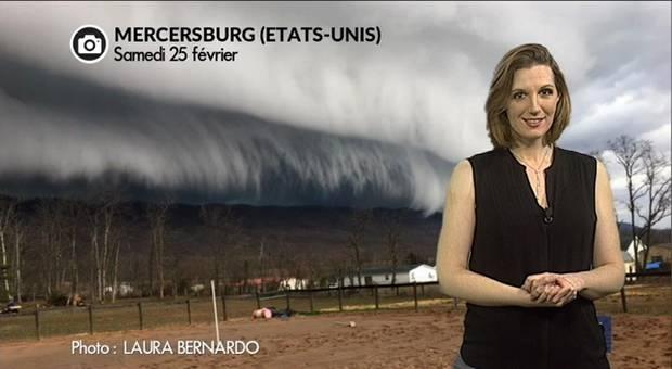 Vidéo Enorme arcus en Pennsylvanie : une ambiance apocalyptique