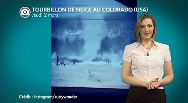 Vidéo Tourbillon de neige au Colorado