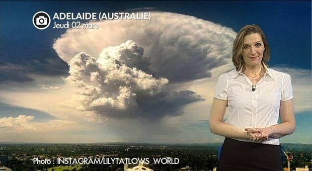 Vidéo Explosion nuageuse en Australie