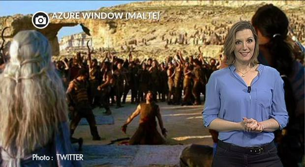 Vidéo L'arche de Game Of Thrones s'est effondrée avec la tempête