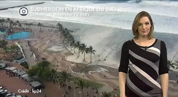 Vidéo Spectaculaire submersion en Afrique du Sud
