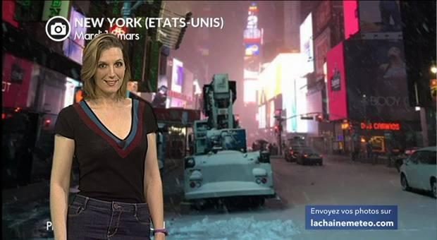 Vidéo New York sous la neige : 1ères images