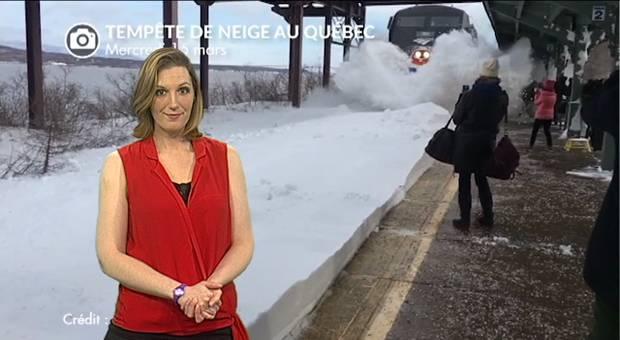 Vidéo Québec : les images des transports dans la tempête de neige