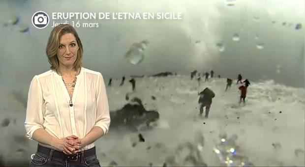 Vidéo Eruption de l'Etna : des reporters surpris par l'explosion