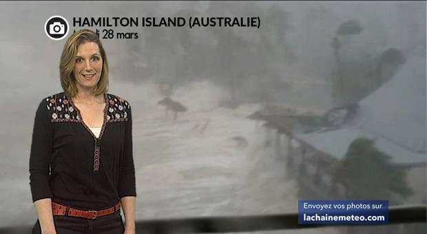 Vidéo Australie : des vents à 263 km/h avec le cyclone Debbie