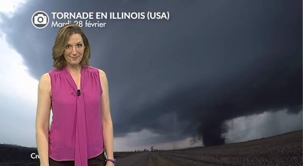 Vidéo Record de tornades aux USA