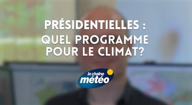 Vidéo Présidentielles : quel programme pour le climat ?