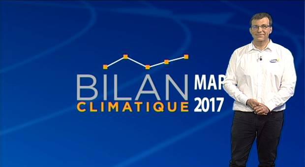 Vidéo Bilan climatique de mars 2017