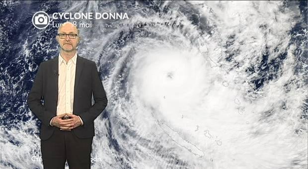 Vidéo La Nouvelle Calédonie frappée par le cyclone DONNA