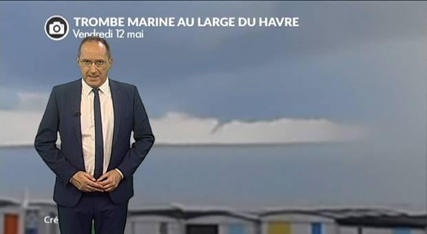Vidéo Météo orages : trombe marine en Normandie et bilan des précipitations