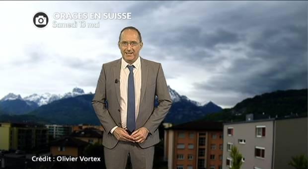 Vidéo Forts orages en Suisse et en Allemagne ce week end