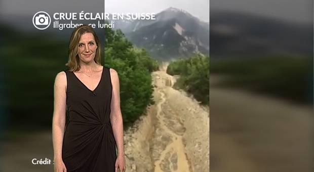 Vidéo Lave torrentielle en Suisse