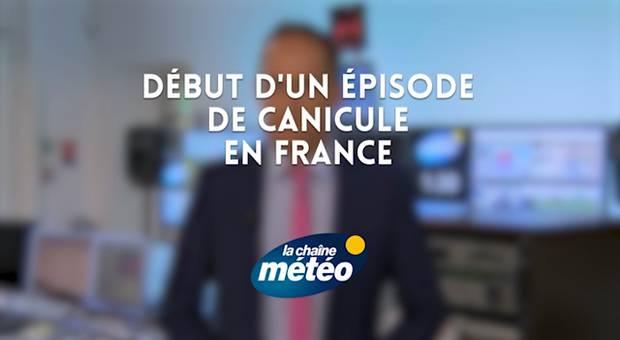 Vidéo Début d'un épisode de canicule en France