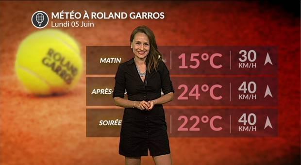 Vidéo Roland-Garros : beau mais venté ce lundi
