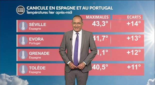 Vidéo Canicule en Espagne et au Portugal : les températures s'envolent !