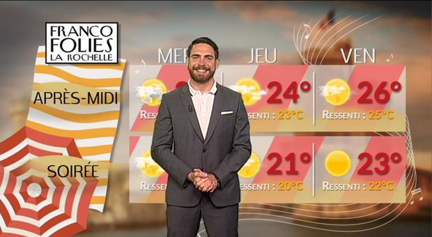 Vidéo Francofolies de la Rochelle : du soleil !