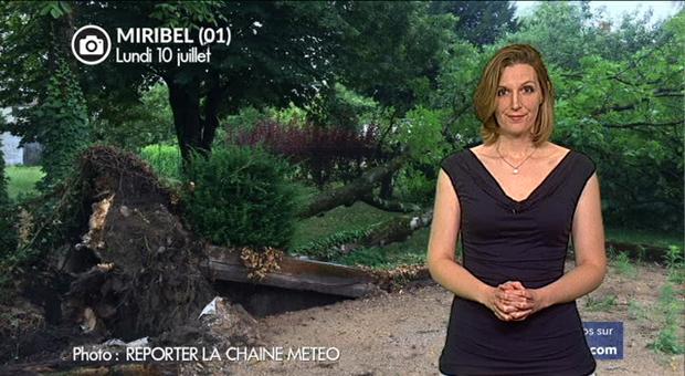 Vidéo Violents orages hier en Rhône-Alpes et Roussillon