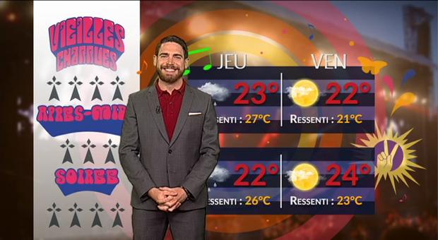 Vidéo Festival Vieilles Charrues : une météo de plus en plus chaude