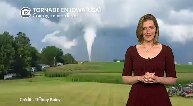 Vidéo Spectaculaire tornade en Iowa