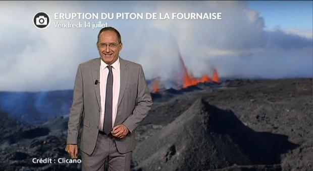 Vidéo Spectaculaire éruption du Piton de la Fournaise à la Réunion