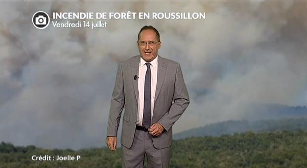 Vidéo Incendies en France ce 14 juillet