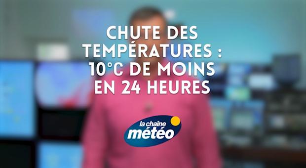 Vidéo Chute des températures : 10°C de moins en 24 heures