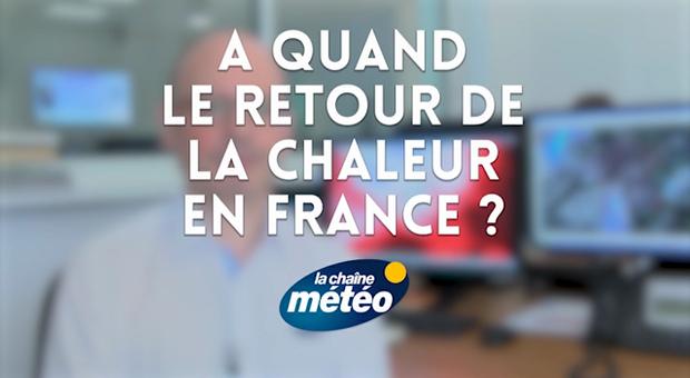 Vidéo A quand le retour de la chaleur en France ?