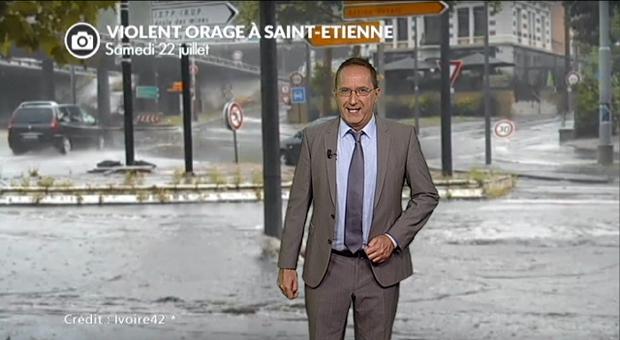 Vidéo Orages et inondations samedi en Auvergne/Rhône-Alpes