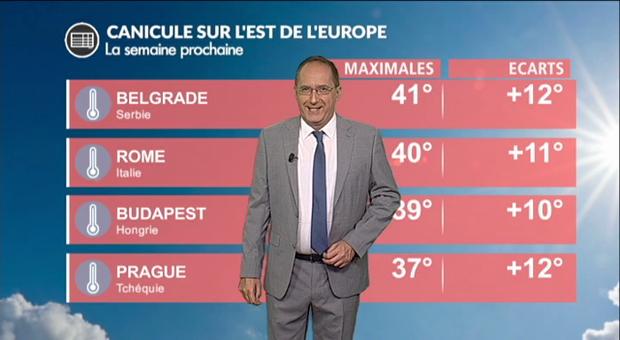 Vidéo Canicule en Europe : jusqu'à 43 °