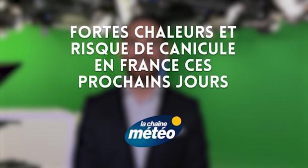 Vidéo Fortes chaleurs et risque de canicule en France ces prochains jours