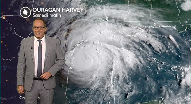 Vidéo Ouragan Harvey : le point samedi à la mi-journée