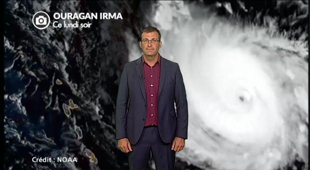 Vidéo Le point sur l'Ouragan IRMA en catégorie 5