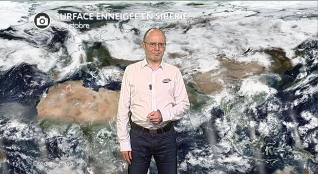 Vidéo Neige en Sibérie : signe d'un hiver froid?
