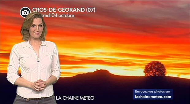 Vidéo Ciel de feu en France ce mercredi soir