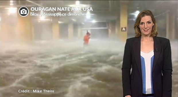 Vidéo Ouragan Nate sur les USA : les images