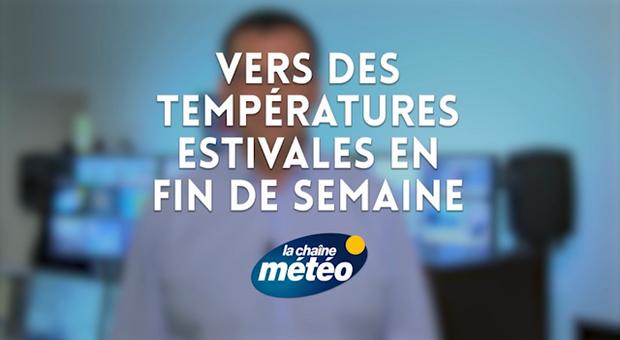 Vidéo Vers des températures estivales en fin de semaine