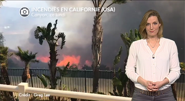 Vidéo Gigantesques incendies en Californie