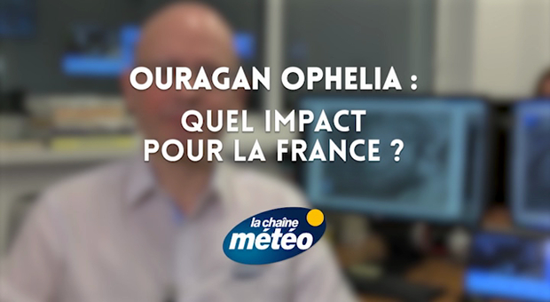 Vidéo Ouragan OPHELIA : quel impact pour la France ?