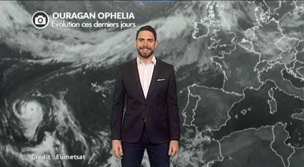 Vidéo Ouragan Ophelia : le suivi