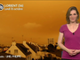 Incroyable ciel orange en Bretagne et Normandie ce lundi