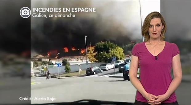 Vidéo Dramatiques incendies au Portugal et en Espagne