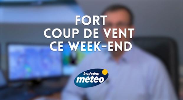 Vidéo Fort coup de vent ce week-end
